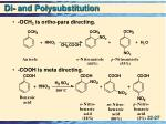 di and polysubstitution2