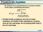 friedel crafts acylation2