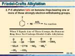 friedel crafts alkylation3