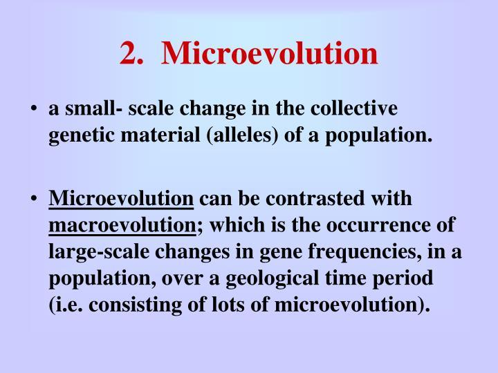 2 microevolution