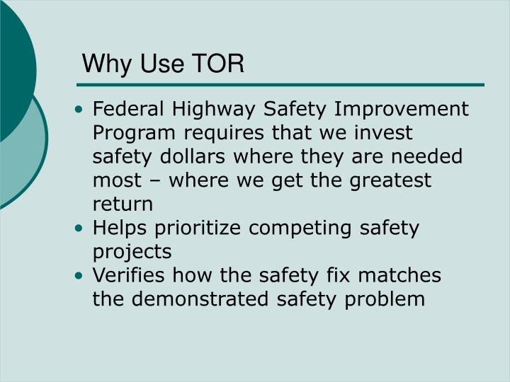 Why use tor