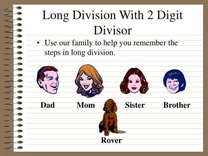 Long division with 2 digit divisor1