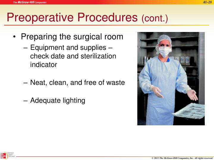 Preoperative Procedures