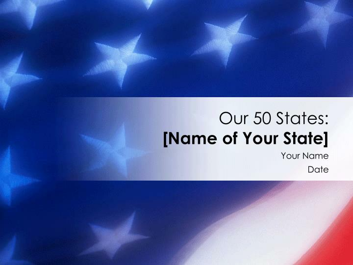 our 50 states name of your state