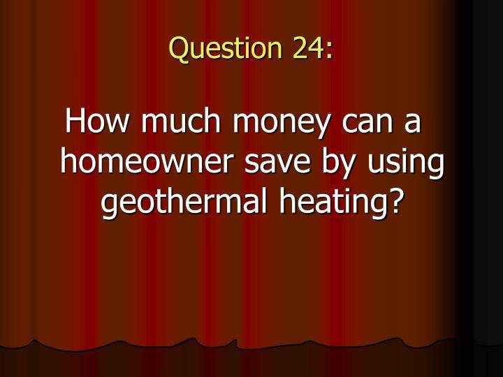 Question 24: