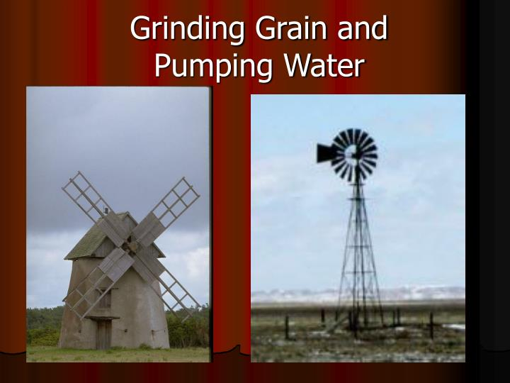 Grinding Grain and