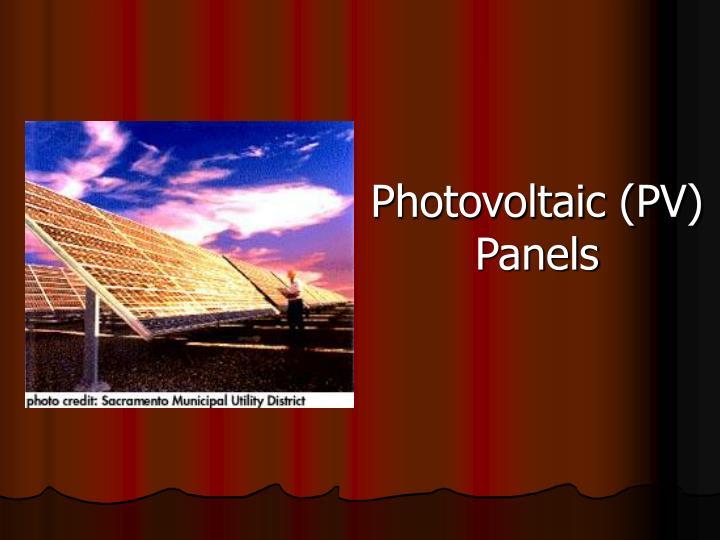 Photovoltaic (PV)