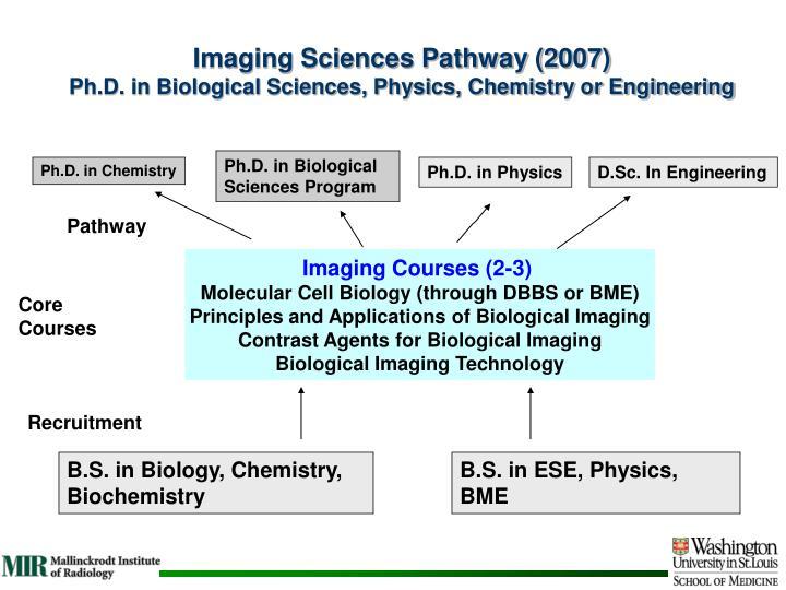 Imaging Sciences Pathway (2007)