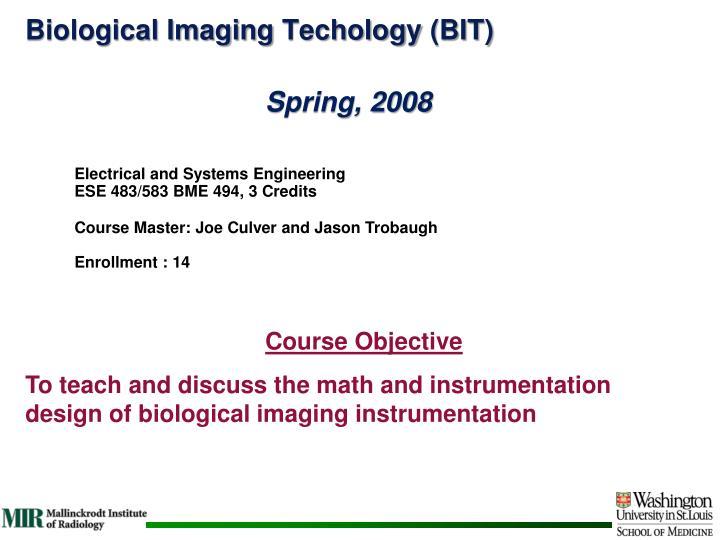 Biological Imaging