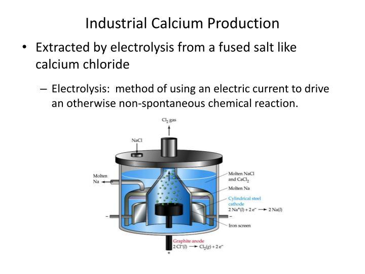 Industrial Calcium Production