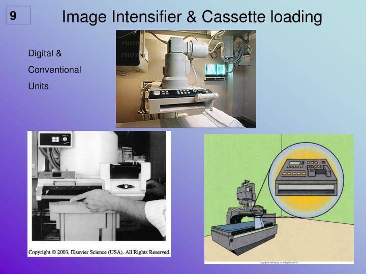 Image Intensifier & Cassette loading