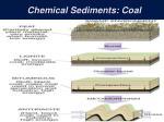 chemical sediments coal