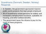 scandinavia denmark sweden norway responds