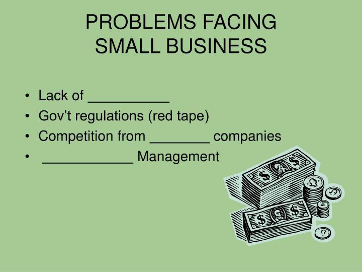 PROBLEMS FACING