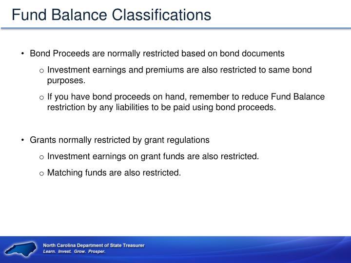 Fund Balance Classifications