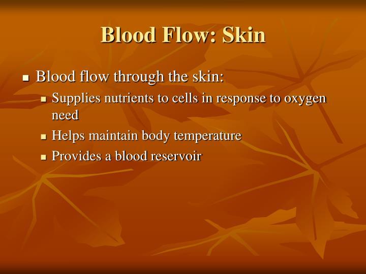 Blood Flow: Skin