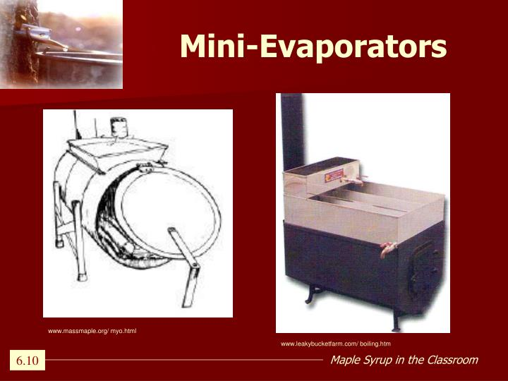 Mini-Evaporators