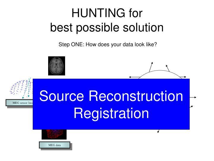 MEG sensor location