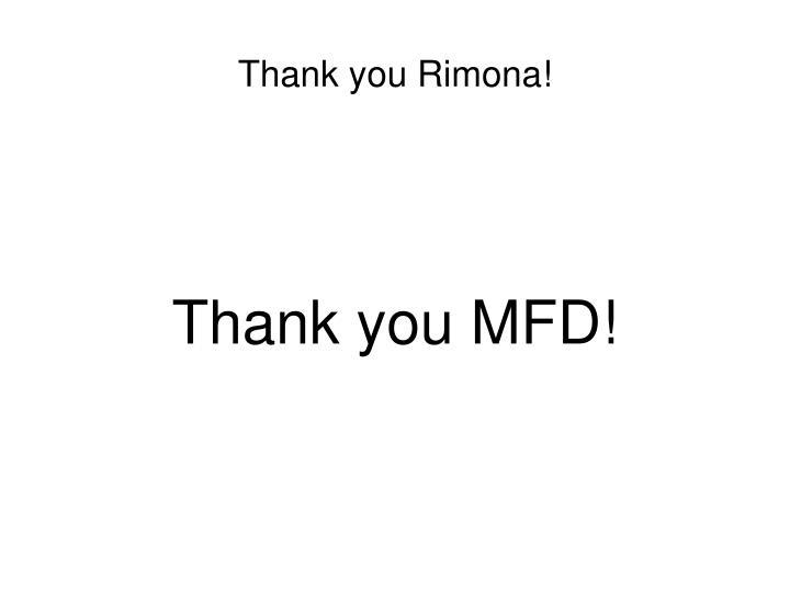 Thank you Rimona!
