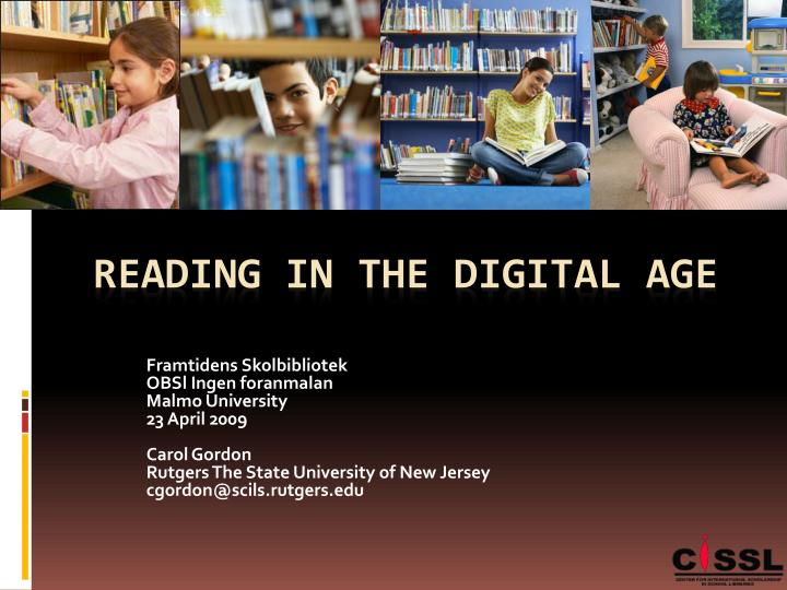 reading in the digital age n.