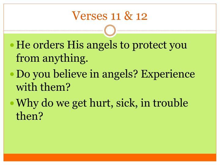 Verses 11 & 12