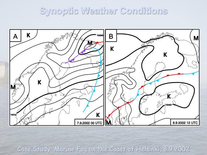 Synoptic Weather Conditions