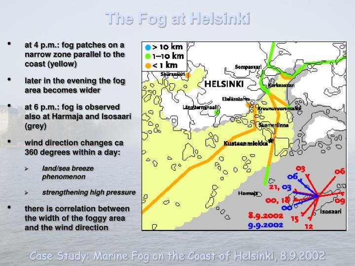 The Fog at Helsinki