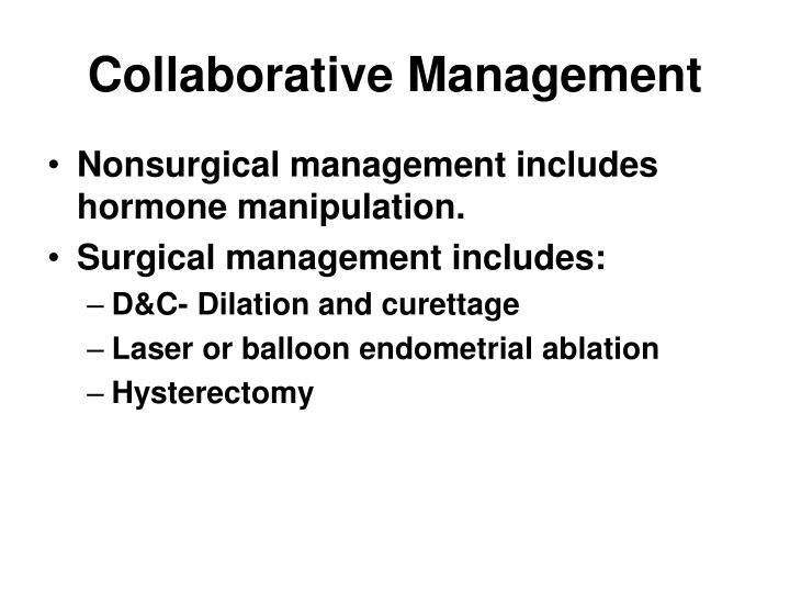 Collaborative management