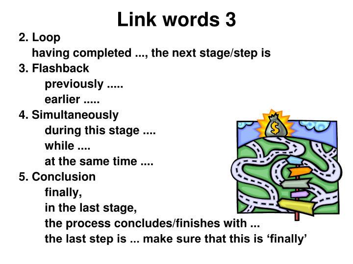 Link words 3