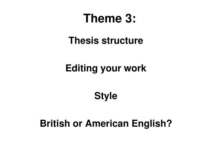 Theme 3: