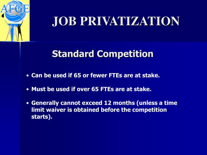 Standard Competition