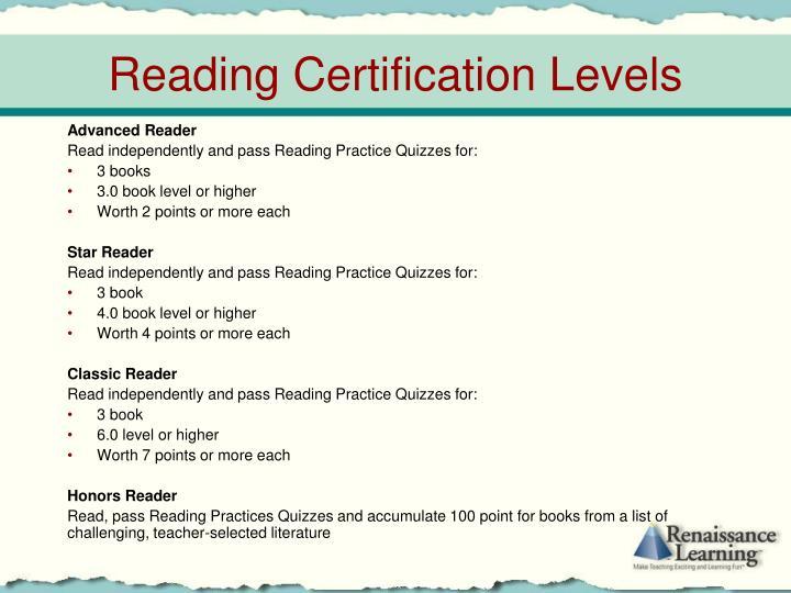 Advanced Reader