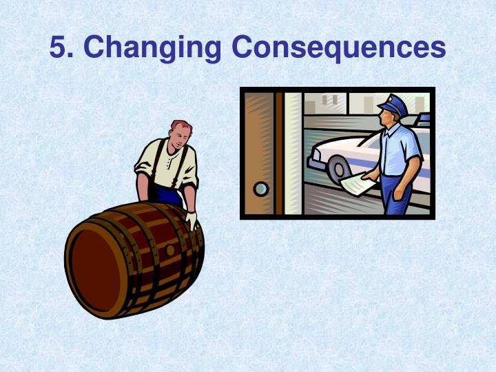 5. Changing Consequences