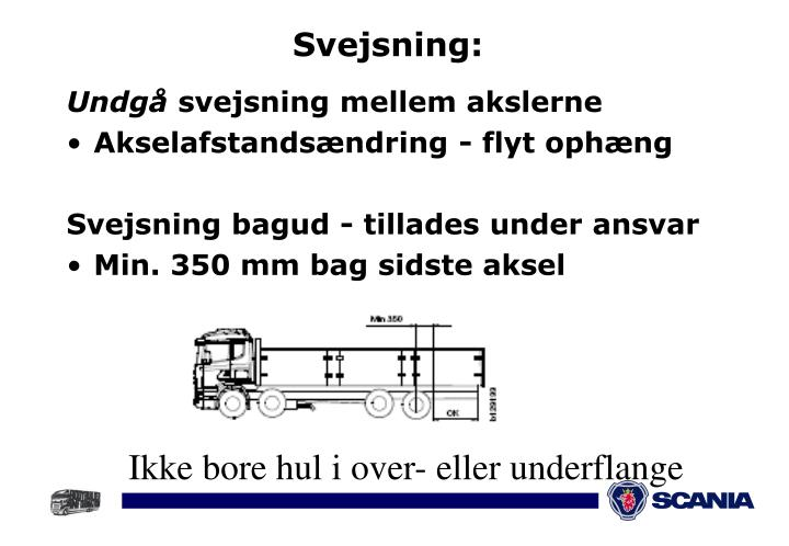 Svejsning: