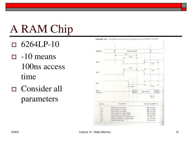A RAM Chip