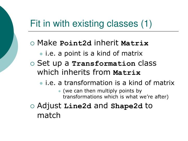 Fit in with existing classes (1)