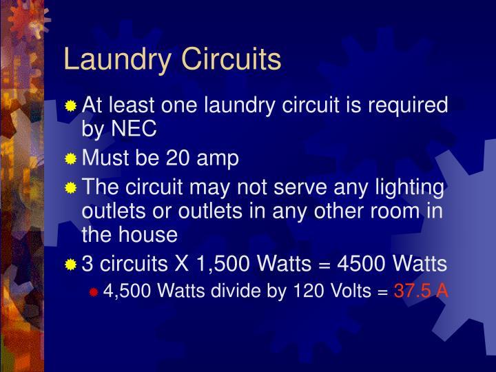 Laundry Circuits