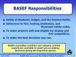 basef responsibilities