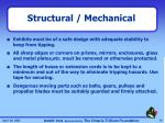 structural mechanical