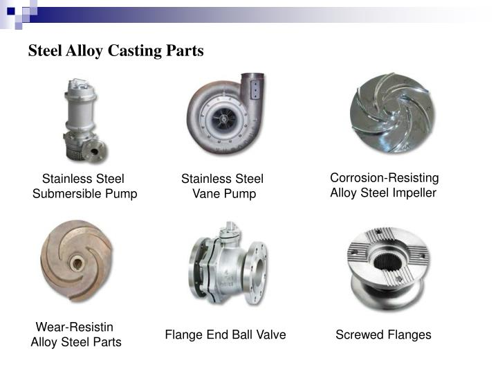 Steel Alloy Casting Parts