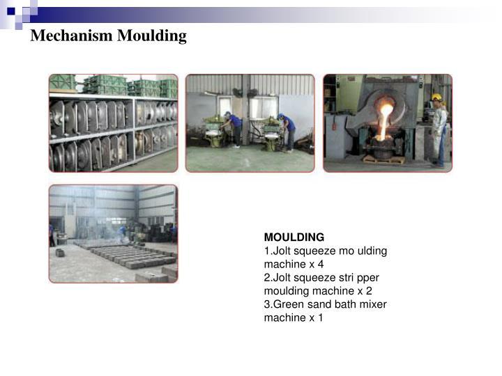 Mechanism Moulding