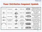 power distribution component symbols
