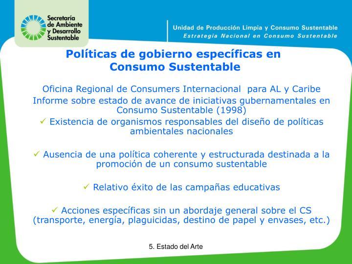 Oficina Regional de Consumers Internacional  para AL y Caribe