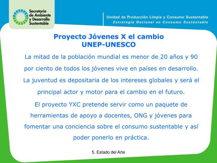 Proyecto Jóvenes X el cambio
