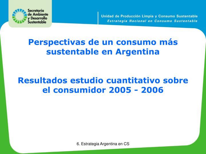 Perspectivas de un consumo más sustentable en Argentina