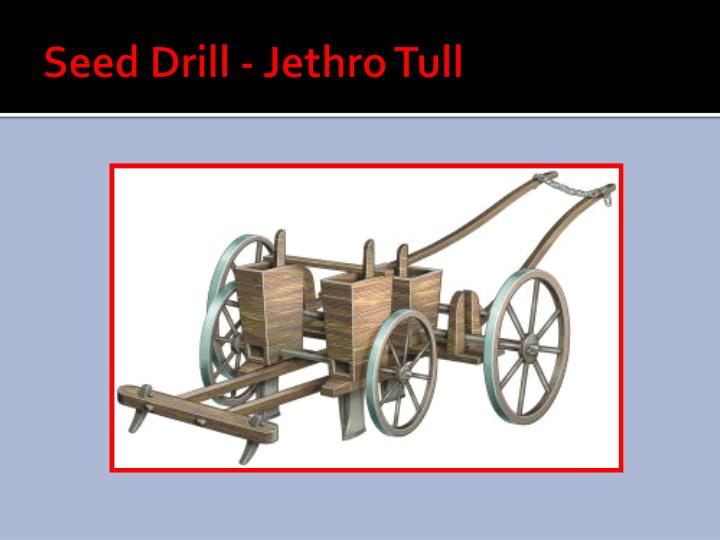 Seed Drill -