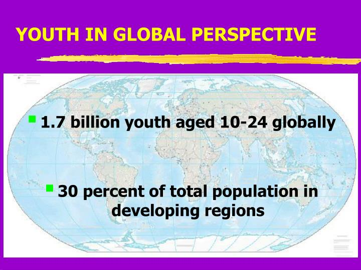YOUTH IN GLOBAL PERSPECTIVE