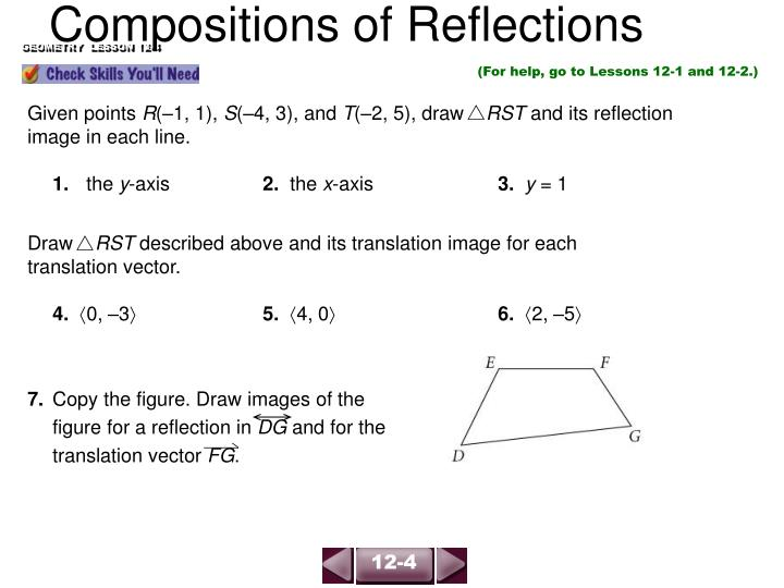 compositions of reflections n.