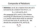 composite of relations