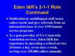 eden i r s 2 1 1 role continued1